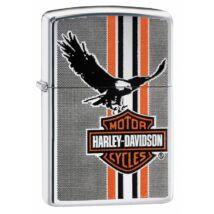 29656 Zippo öngyújtó, Polírozott Króm, Harley Davidson®