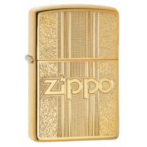 29677 Polírozott réz Zippo öngyújtó, Zippo logóval gravírozva