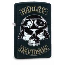 29738 Zippo öngyújtó Matt fekete -Harley Davidson®