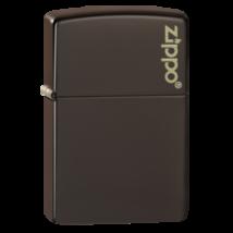 49180ZL Zippo öngyújtó barna színben - Zippo logóval