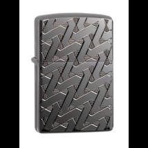 49173 Zippo öngyújtó Armor® Black Ice színben mélygravírozással,