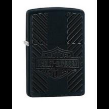 49174 Zippo öngyújtó matt fekete színben  -Harley Davidson®