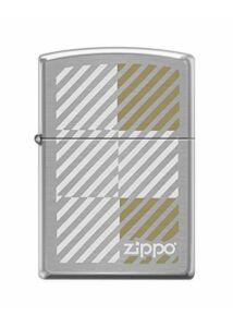 200 60001982 Zippo öngyújtó Stripes and Squares Laiton