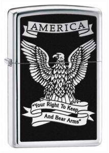 28290 Zippo öngyújtó, magasfényű króm színben - Fegyvertartási jog