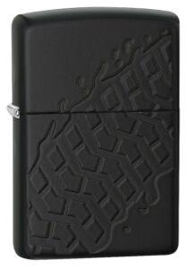 28966 Zippo öngyújtó Tire Tread Armor Black Matte