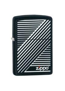 405161 Zippo öngyújtó Matt fekete - Zippo logó