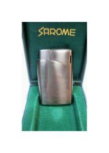 SA2643 Sarome öngyújtó, fényes szürke színben, Utolsó darab