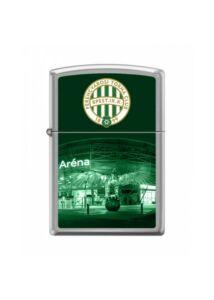 FTC 200/2  Zippo öngyújtó Csiszolt Króm - FTC logó és stadion