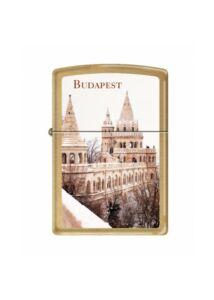 204B Zippo öngyújtó, Budapest, Halászbástya képpel