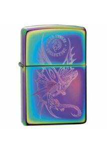 29586 Zippo öngyújtó, színváltós / spectrum színű - Dragon by: Anna Stokes