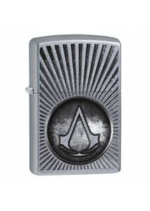 29602 Zippo öngyújtó, csiszolt króm színbe - Assassin's Creed