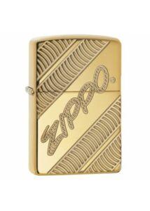 29625 Zippo öngyújtó, Polírozott réz színben - Zippo logó