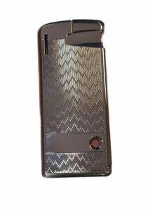 35-6802SR Corona Öngyújtó, ezüst színben, Doboz nélkül, Utolsó darabok