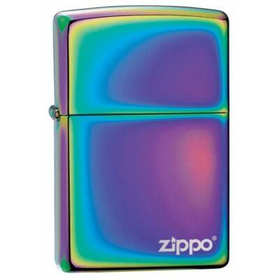 151ZL Zippo öngyújtó, tükrösre polírozott felülettel, Spektrum színeiben logóval