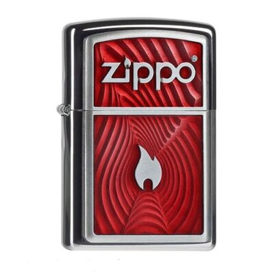 2.004.535 Zippo Red Flame 3D