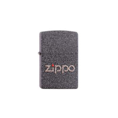 211-60001357 Zippo öngyújtó kőhatású kivitel - Zippo logo