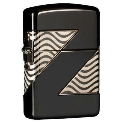 49194 Zippo Öngyújtó Black Ice sznben 2020 Collectible of the Year 49194