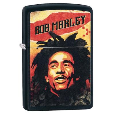 49154 Zippo öngyújtó fekete színben -Bob Marley