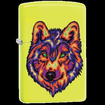29639 Zippo öngyújtó neonsárga színben - Farkas