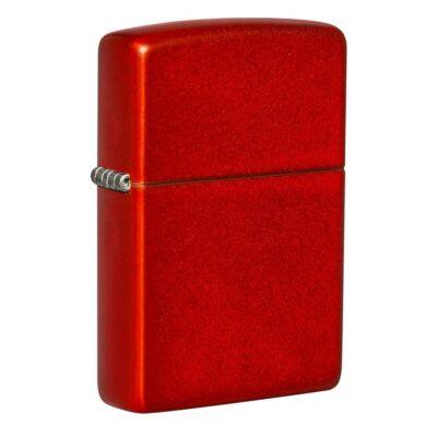 49475 Zippo öngyújtó metál vörös színben
