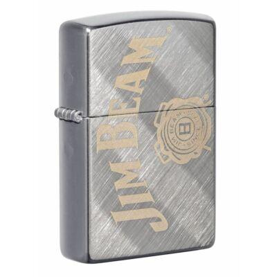 49324 Zippo öngyújtó, fényes ezüst színben -Jim Beam