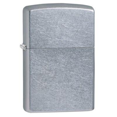 207 Zippo öngyújtó, Utcai csiszolt ezüst színű