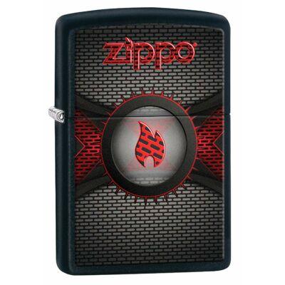 218 60003080 Zippo öngyújtó Red Metallic Flame
