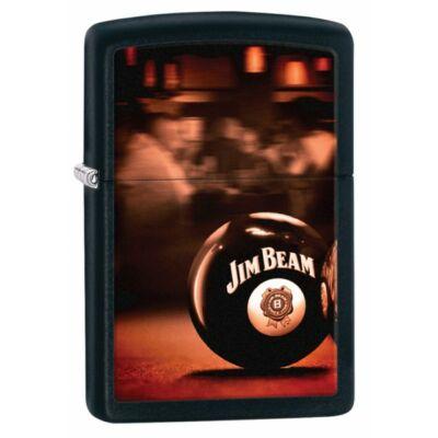 28840 Zippo öngyújtó, matt fekete színben- Jim Beam