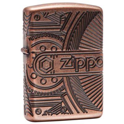 29523 Zippo öngyújtó, Steampunk stílus, 360°