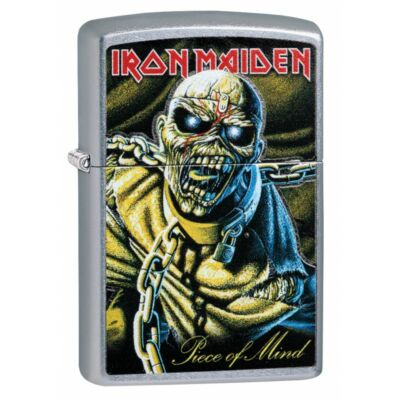 29876 Zippo öngyújtó, utcai csiszolt kivitel - Iron Maiden
