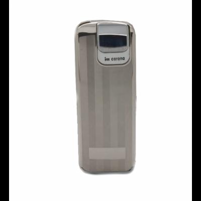 36-4530SC Corona Öngyújtó, ezüst színben, UTOLSÓ DARAB