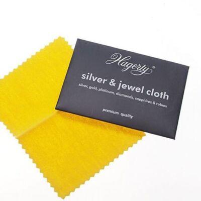 H003 Hagerty tisztítókendő, ezüsthöz- aranyhoz, öngyújtókhoz