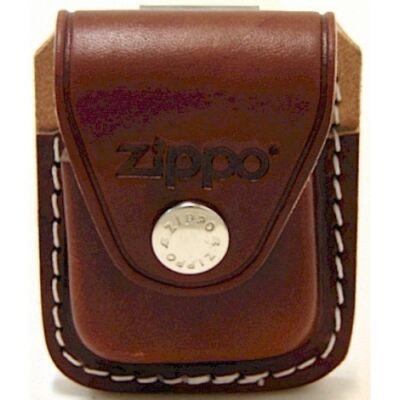 LPCB Zippo öngyújtó tartó, barna bőr