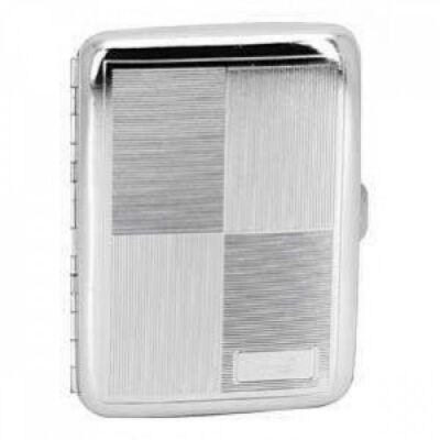 15623 Remo Cigaretta tárca, fém - 16 szál cigarettához