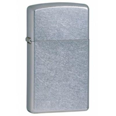 1607 Zippo Slim-vékony öngyújtó, ezüst színben