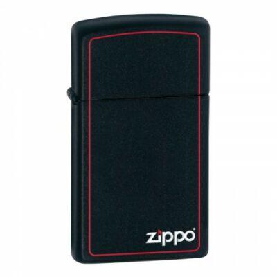 1618ZB Zippo Slim-vékony benzines öngyújtó, matt fekete