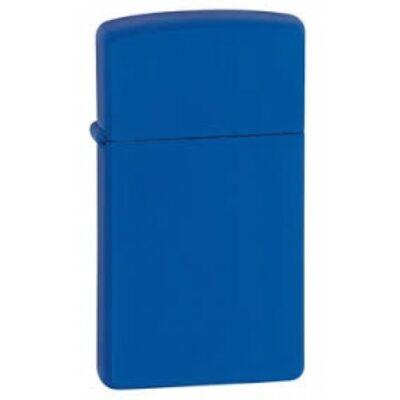 1630 Zippo Slim-vékony öngyújtó, matt kék színben