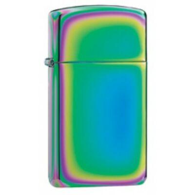 20493 Zippo öngyújtó, spektrum színeiben, vékony kivitel