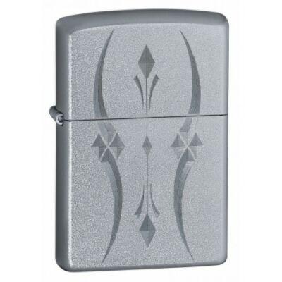 21155 Zippo öngyújtó, ezüst színben - Nonfiguratív mintákkal díszítve
