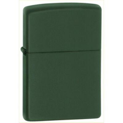 221 Zippo öngyújtó, matt sötétzöld színben