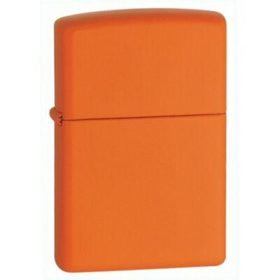 231 Zippo öngyújtó, narancssárga színben, gravírozható