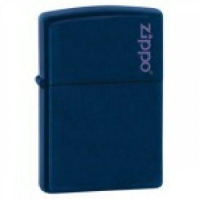 239ZL Zippo öngyújtó, matt kék színben logóval