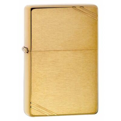 240 Zippo öngyújtó, arany színben, szálhúzott
