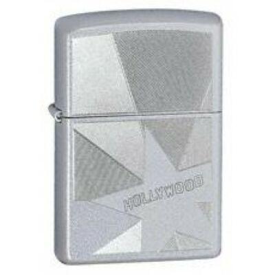 24323 Zippo öngyújtó, csiszolt ezüst színben - Hollywoodi csillag
