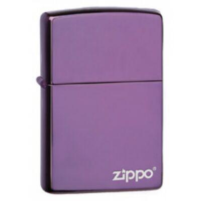 24747ZL Zippo öngyújtó fényes lila színben logóval