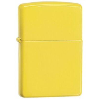 24839 Zippo öngyújtó, citromsárga színben