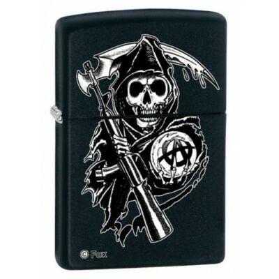 28504 Zippo öngyújtó - Sons of Anarchy Grim Reaper Biker