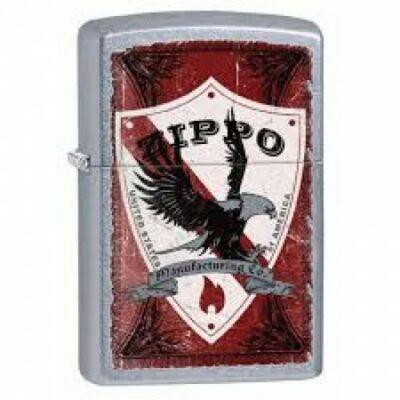 28867 Zippo öngyújtó, utcai csiszolt kivitelbe logóval - Shield