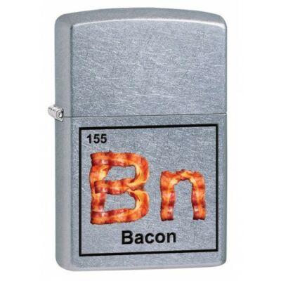 29070 Zippo öngyújtó, utcai csiszolt kivitelben - Bacon