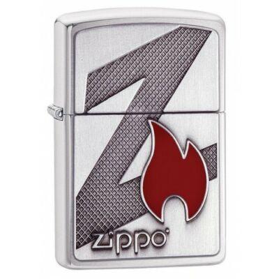 29104 Zippo öngyújtó, csiszolt króm színben logóval